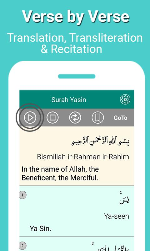 Surah Yaseen with Translation and Transliteration for