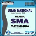Bocoran Soal Matematika UN SMA Terbaru 2020 (UNBK)