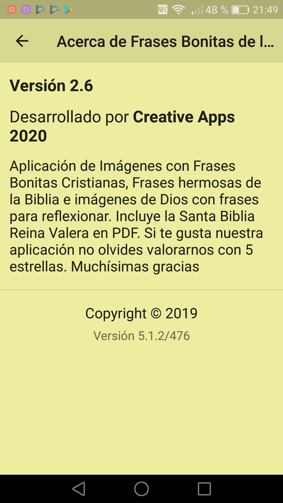 Frases Bonitas De La Biblia для андроид скачать Apk