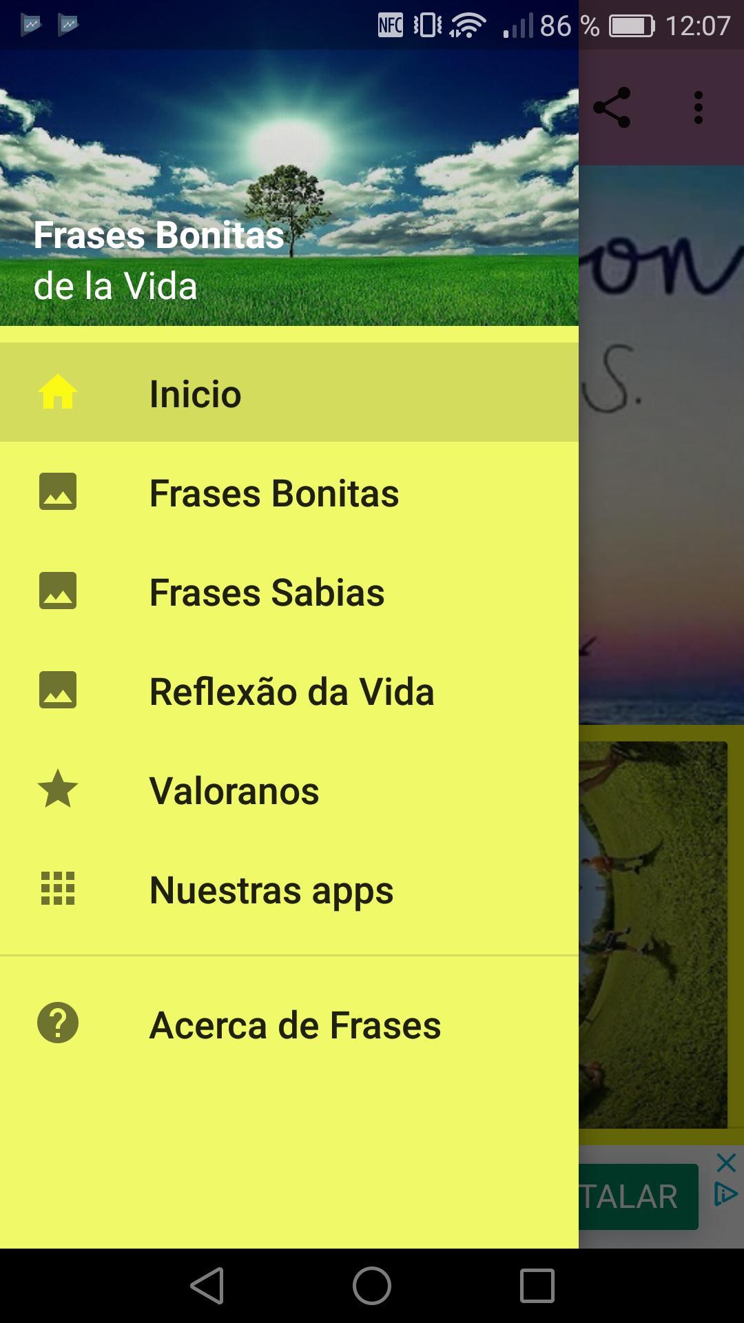 Frases Bonitas De La Vida для андроид скачать Apk