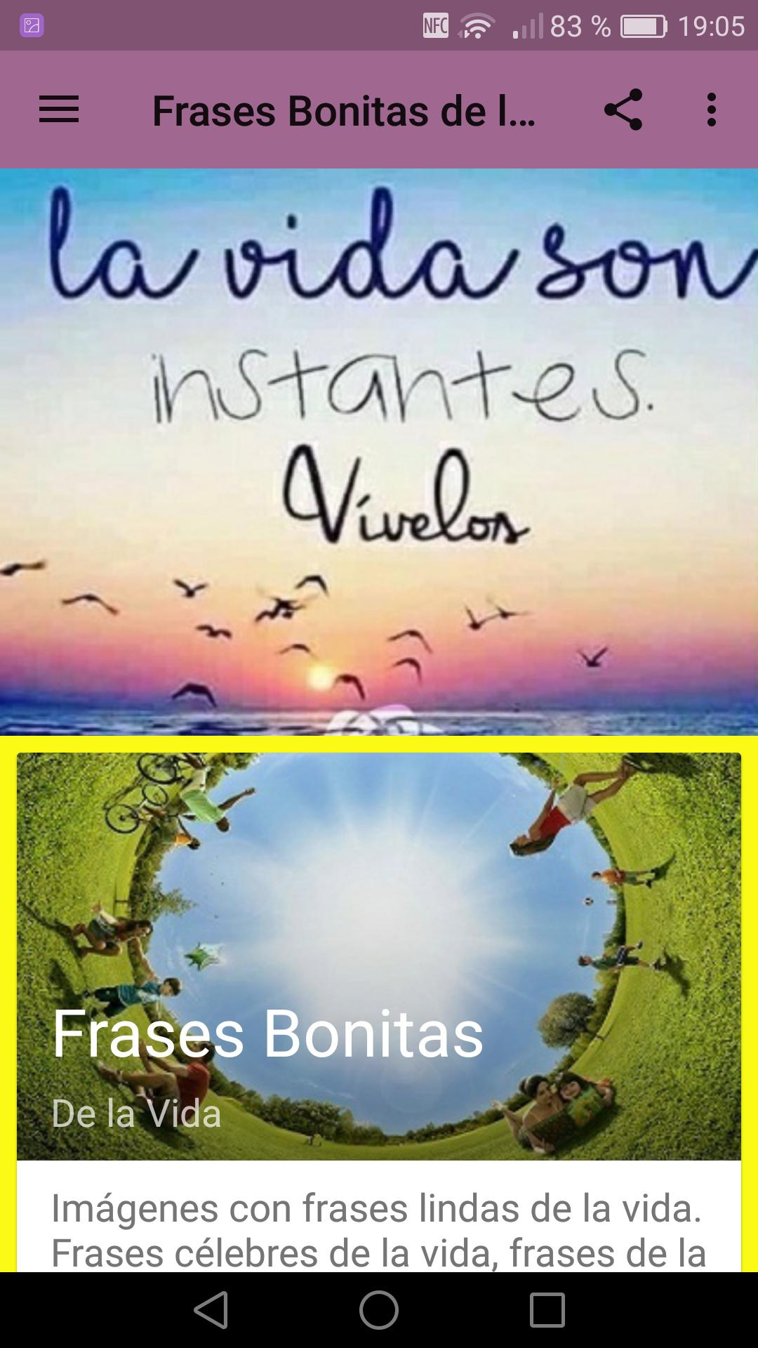 Frases Bonitas De La Vida For Android Apk Download
