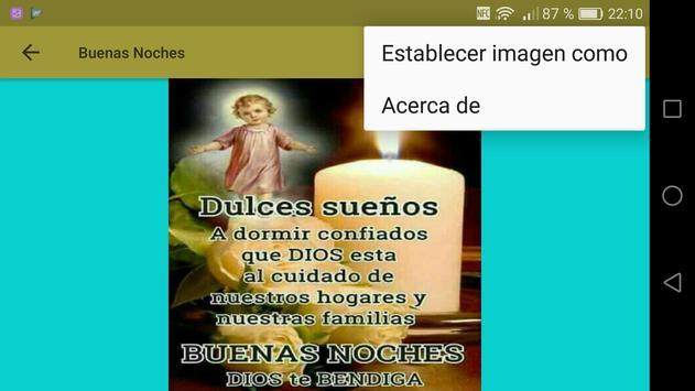 Frases Cristianas de Buenas Noches screenshot 10