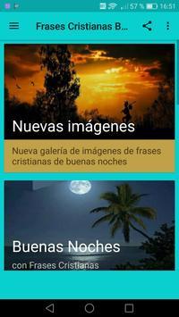 Frases Cristianas de Buenas Noches screenshot 1