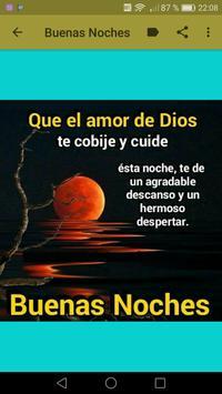Frases Cristianas de Buenas Noches screenshot 5