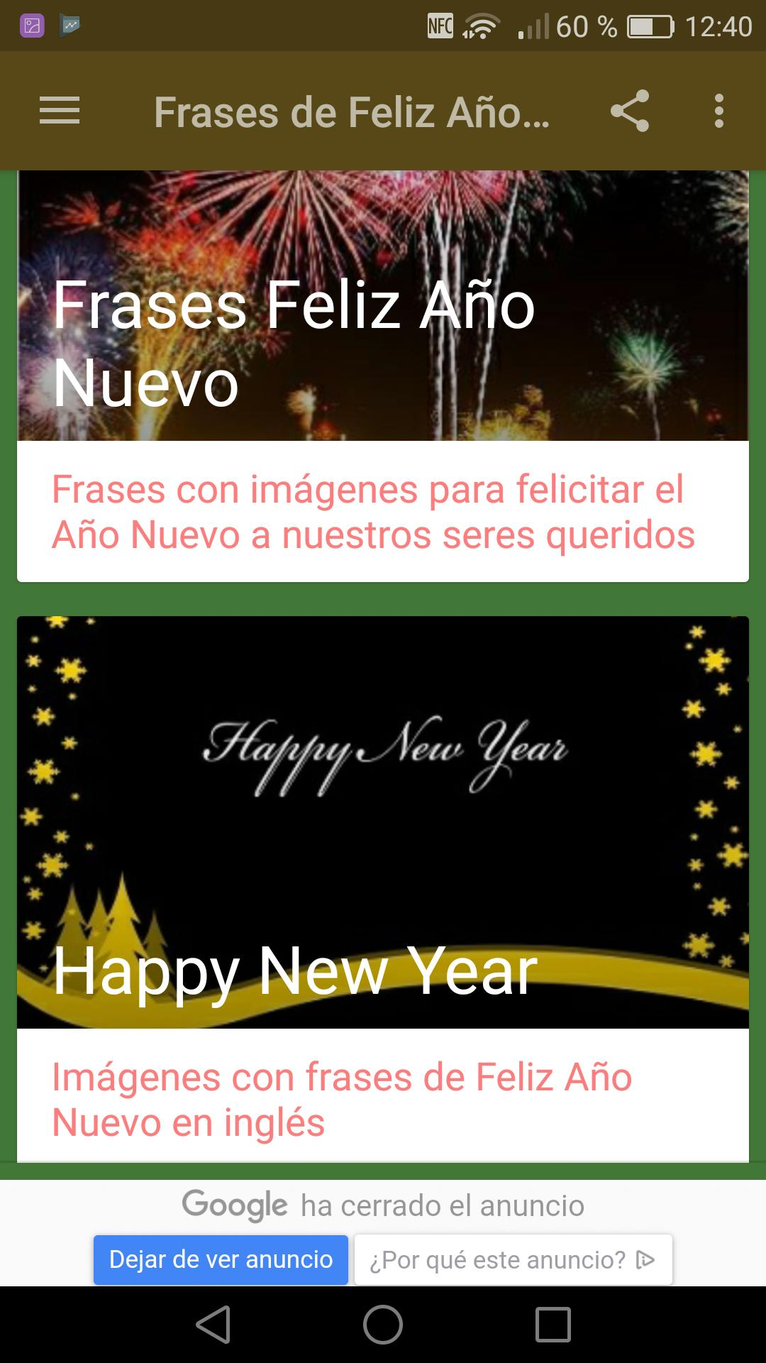 Frases De Feliz Año Nuevo 2020 For Android Apk Download