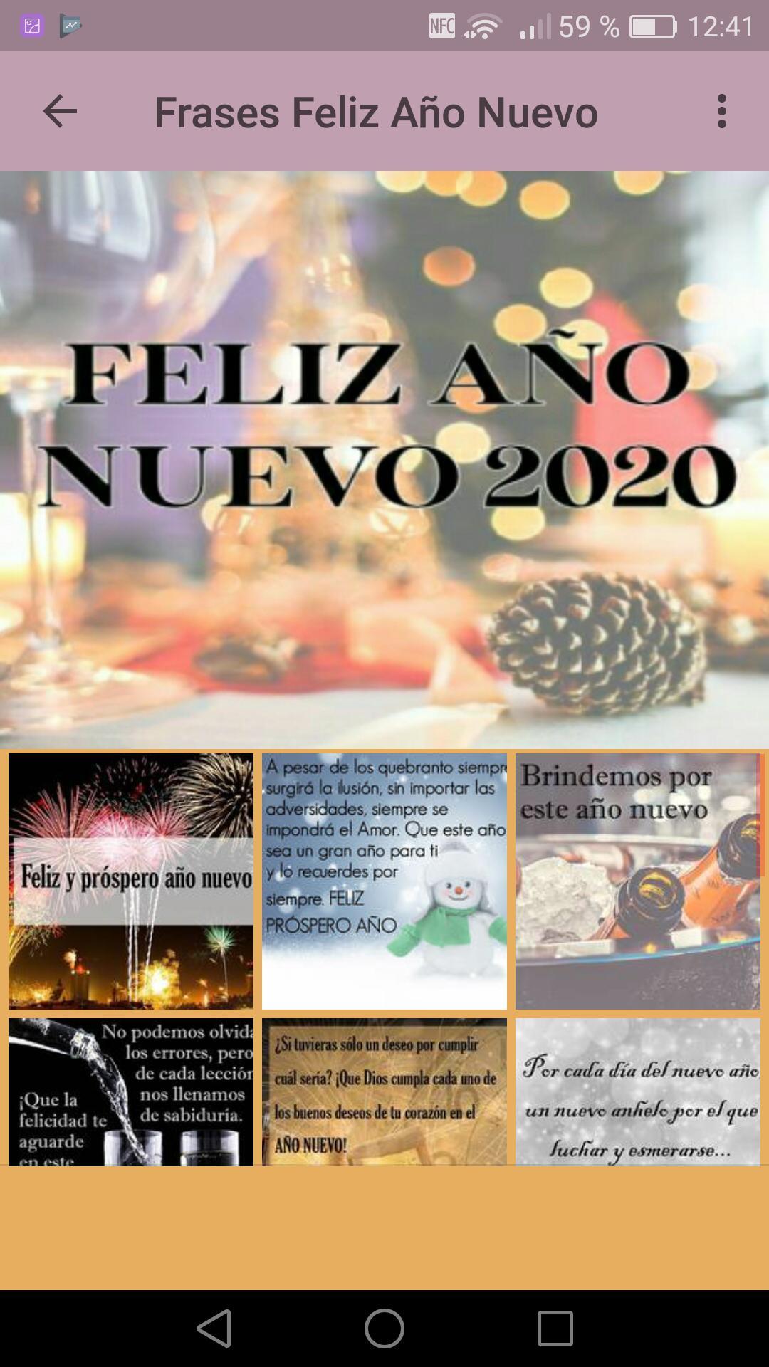 Frases De Feliz Año Nuevo 2020 For Android Apk Download