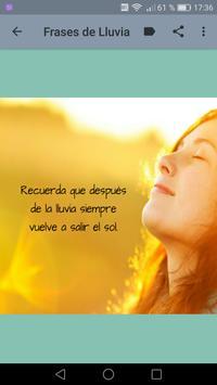 Frases de LLuvia - Sonidos de Lluvia y Truenos screenshot 8