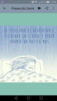 Frases de LLuvia - Sonidos de Lluvia y Truenos screenshot 15