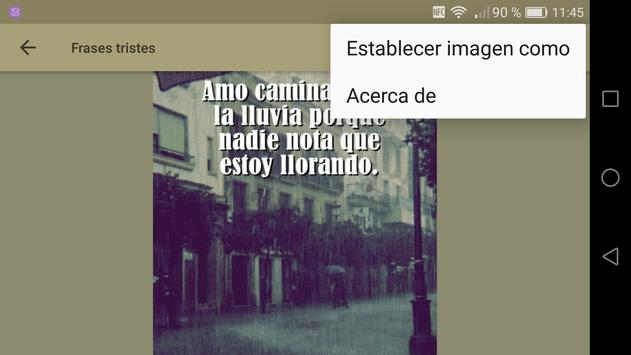 Frases para Llorar screenshot 11