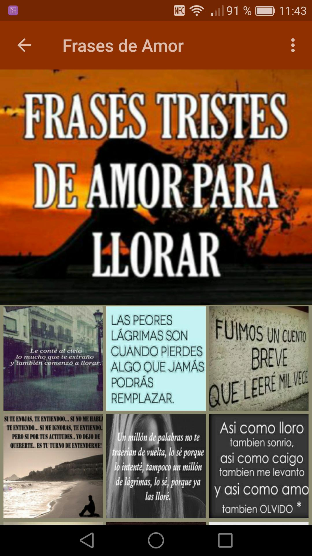 Frases Para Llorar For Android Apk Download