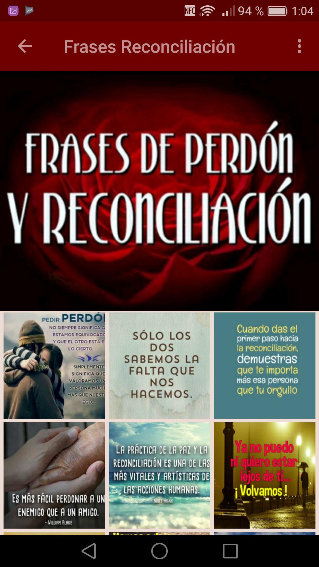 Frases De Paz Y Frases De Reconciliación For Android Apk
