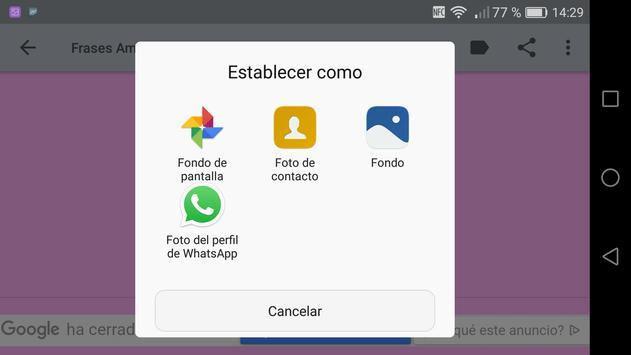 Frases Tiernas de Amor screenshot 11