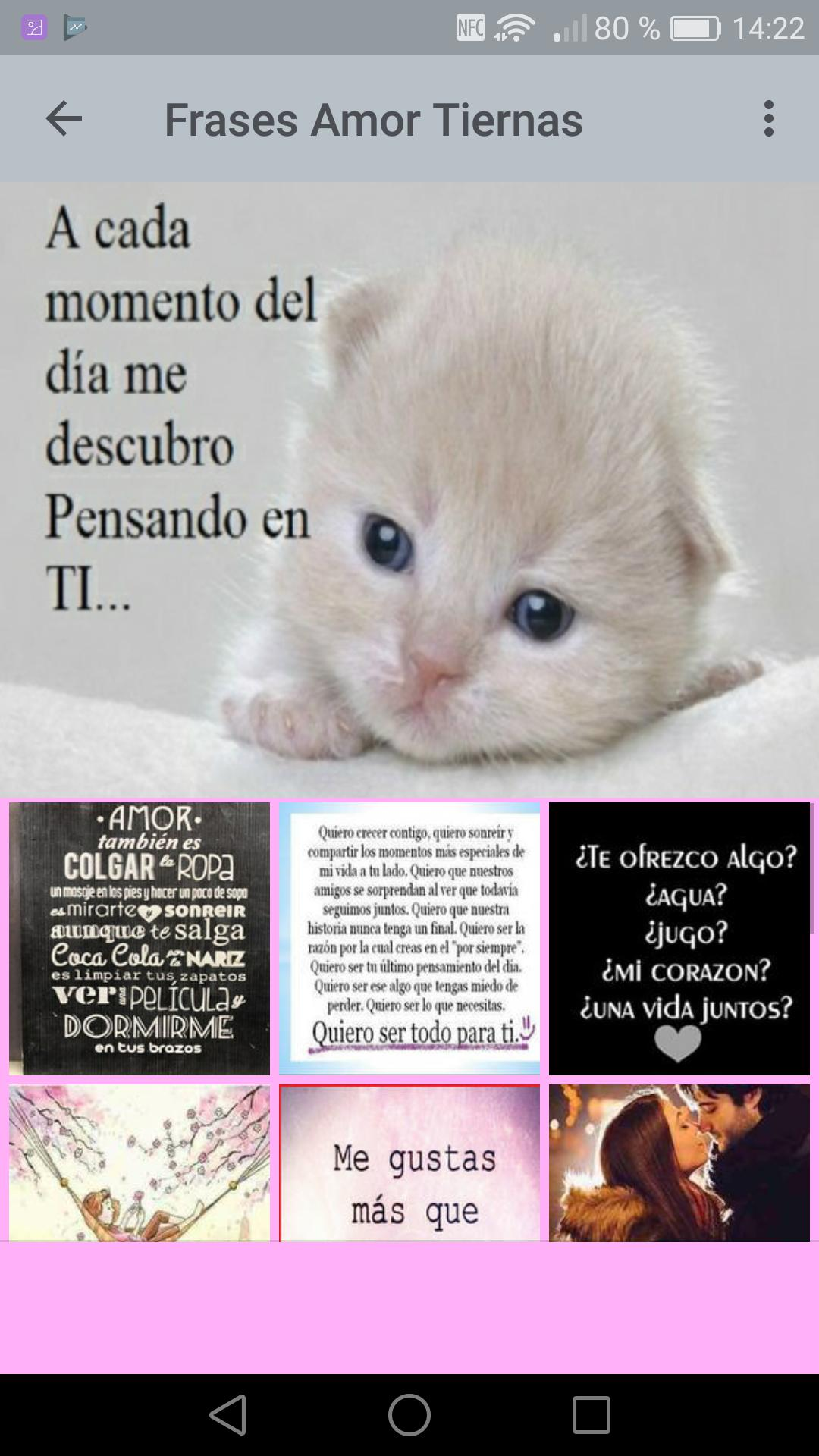 Frases Tiernas De Amor For Android Apk Download