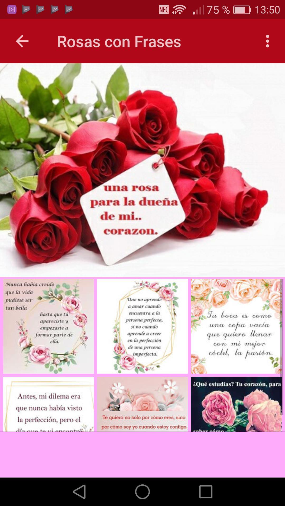 Ramos De Rosas Con Poemas For Android Apk Download