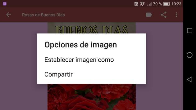 Rosas de Buenos Dias captura de pantalla 9