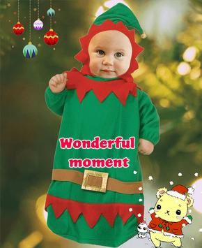 Lovely Baby Photo: costume, frame, and nice face screenshot 3