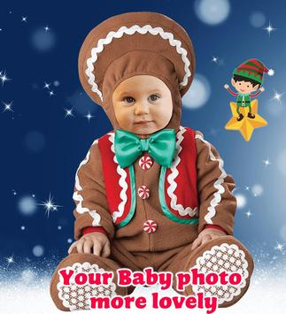 Lovely Baby Photo: costume, frame, and nice face screenshot 1