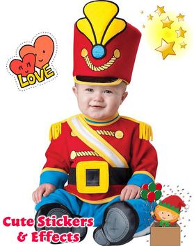 Lovely Baby Photo: costume, frame, and nice face screenshot 2