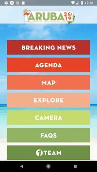 Aruba with CreativeOne poster