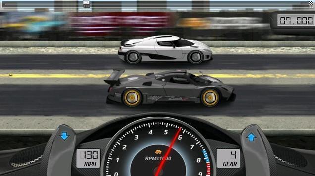 Drag Racing captura de pantalla 3