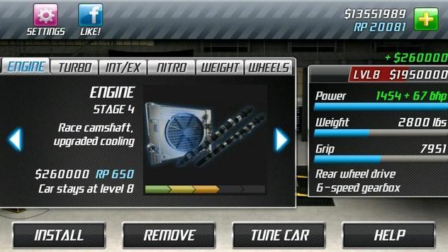 Drag Racing स्क्रीनशॉट 4