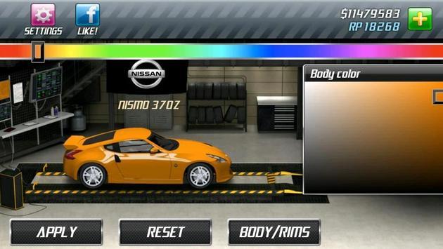 Drag Racing captura de pantalla 5