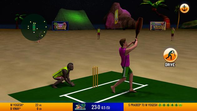Friends Beach Cricket screenshot 2