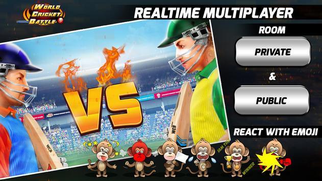 World Cricket Battle تصوير الشاشة 7