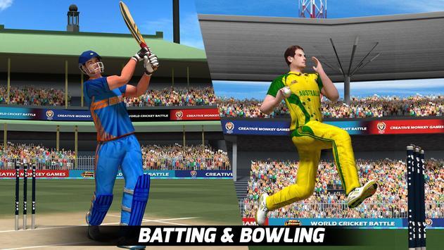 World Cricket Battle poster