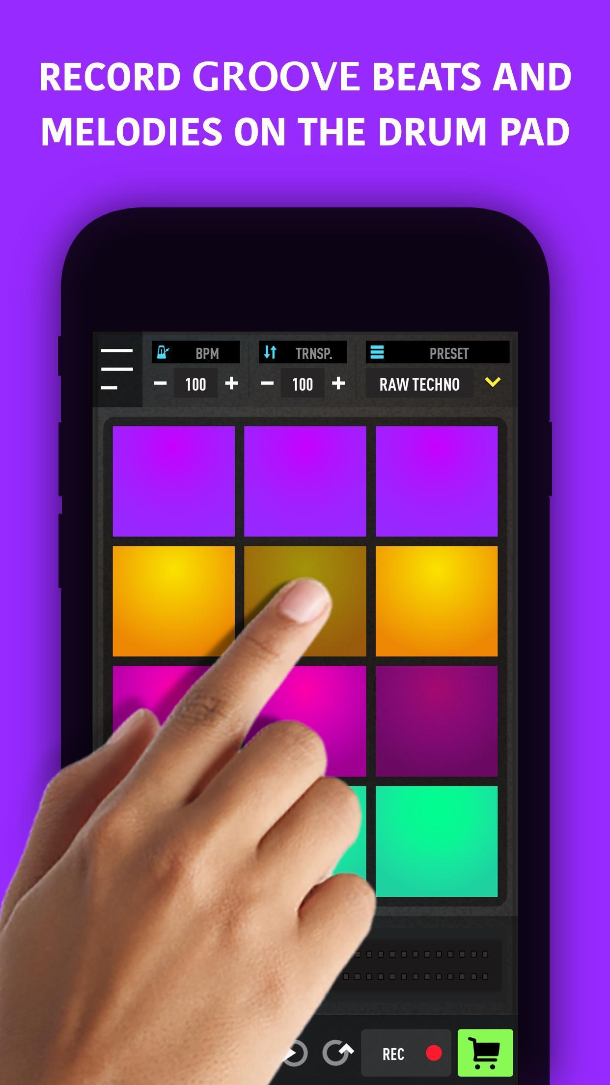 mixpads drum pad dj audio mixer for android apk download. Black Bedroom Furniture Sets. Home Design Ideas