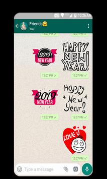 Christmas And New Year Stickers 2019 screenshot 5