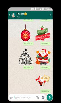 Christmas And New Year Stickers 2019 poster