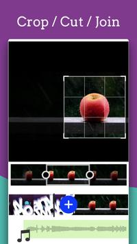 Video Editor - Text auf Video mit Audio Screenshot 4