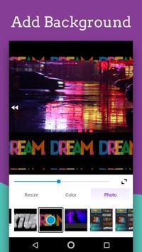 Video Editor - Text auf Video mit Audio Screenshot 5