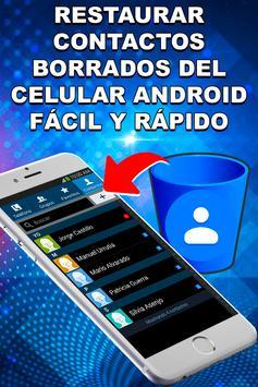 Recupera Contactos Borrados del Celular Guía Fácil screenshot 3