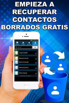Recupera Contactos Borrados del Celular Guía Fácil screenshot 2