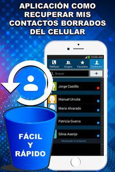 Recupera Contactos Borrados del Celular Guía Fácil screenshot 4