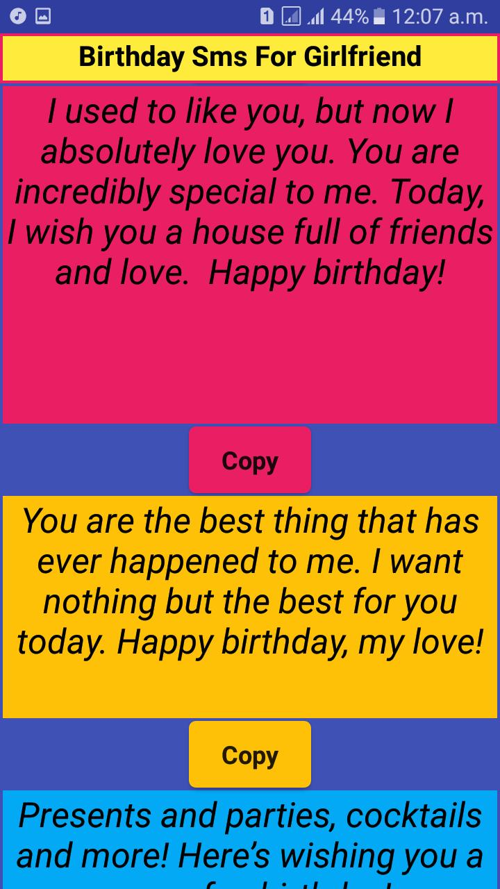 Incredible Happy Birthday Wishes For Her Birthday Messages For Android Personalised Birthday Cards Bromeletsinfo