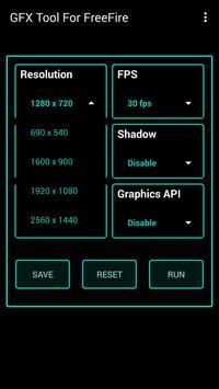 Fire GFX Tool : FPS Booster Free ( Lag Fixer ) تصوير الشاشة 2
