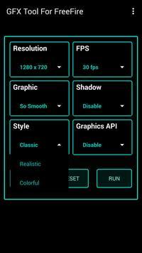 Fire GFX Tool : FPS Booster Free ( Lag Fixer ) تصوير الشاشة 4