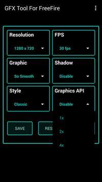 Fire GFX Tool : FPS Booster Free ( Lag Fixer ) تصوير الشاشة 6