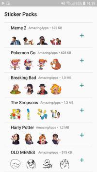 WAStickerApps - Stickers for Whatsapp captura de pantalla 1