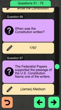 US Citizenship Test 2019 Audio screenshot 18