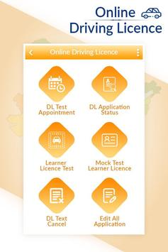 Online Driving Licence All Services 2019 poster