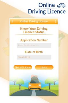 Online Driving Licence All Services 2019 screenshot 1