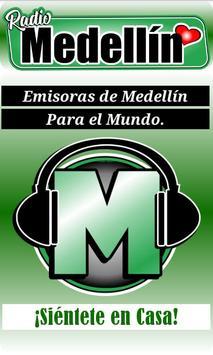 Radio y Emisoras de Medellín Colombia poster
