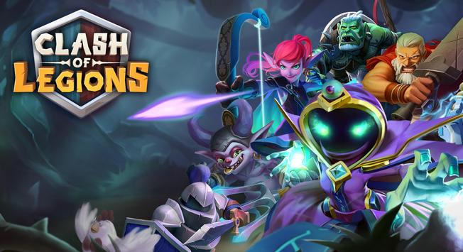 Clash of Legions - rise your art of war in top RTS poster