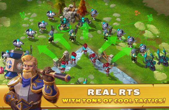 Clash of Legions - rise your art of war in top RTS screenshot 15