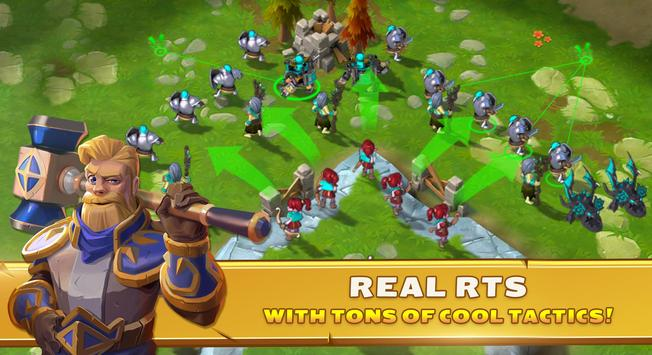 Clash of Legions - rise your art of war in top RTS screenshot 8