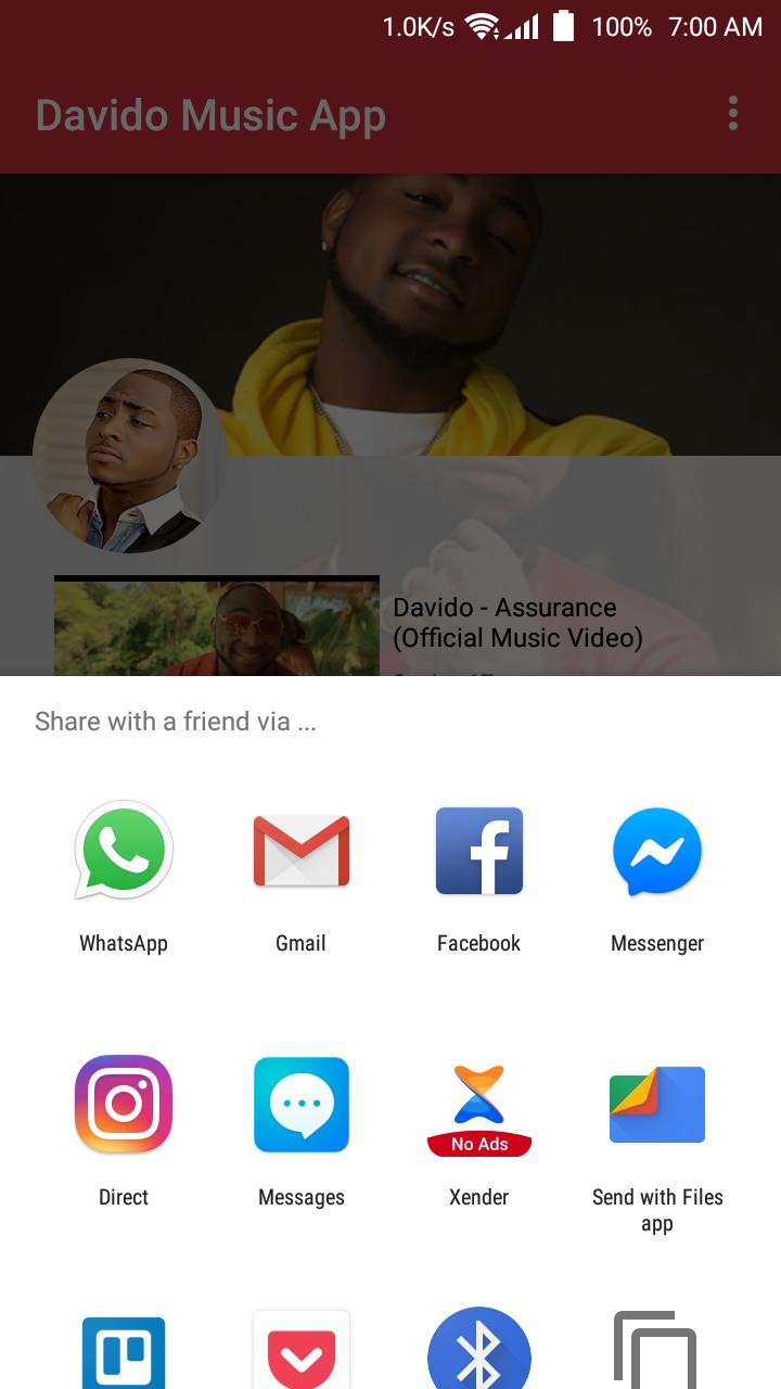 Davido Music App for Android - APK Download